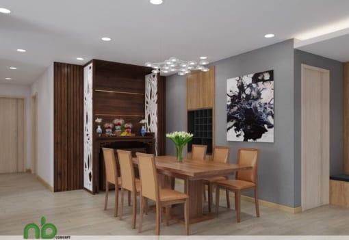 Thiết kế nội thất Chung cư Complex Nguyễn Tuân