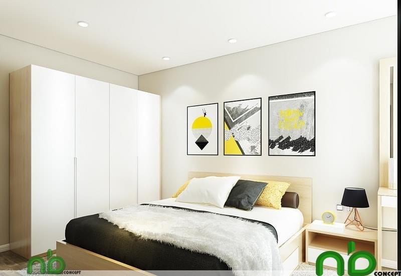 Không gian phòng ngủ