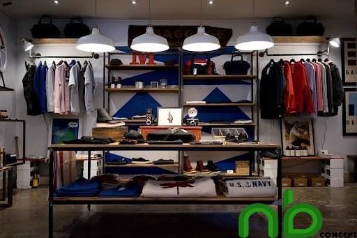 Thiết kế shop quần áo thời trang để thu hút hơn