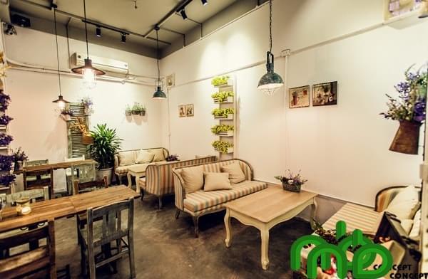 Thiết kế, thi công quán cà phê
