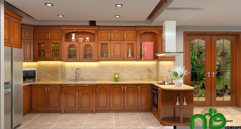 Các tiêu chí giúp bạn lựa chọn tủ bếp gỗ đẹp, chất lượng