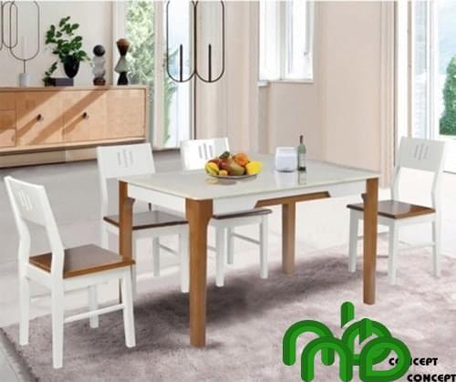 Bộ bàn ăn 4 ghế tinh tế
