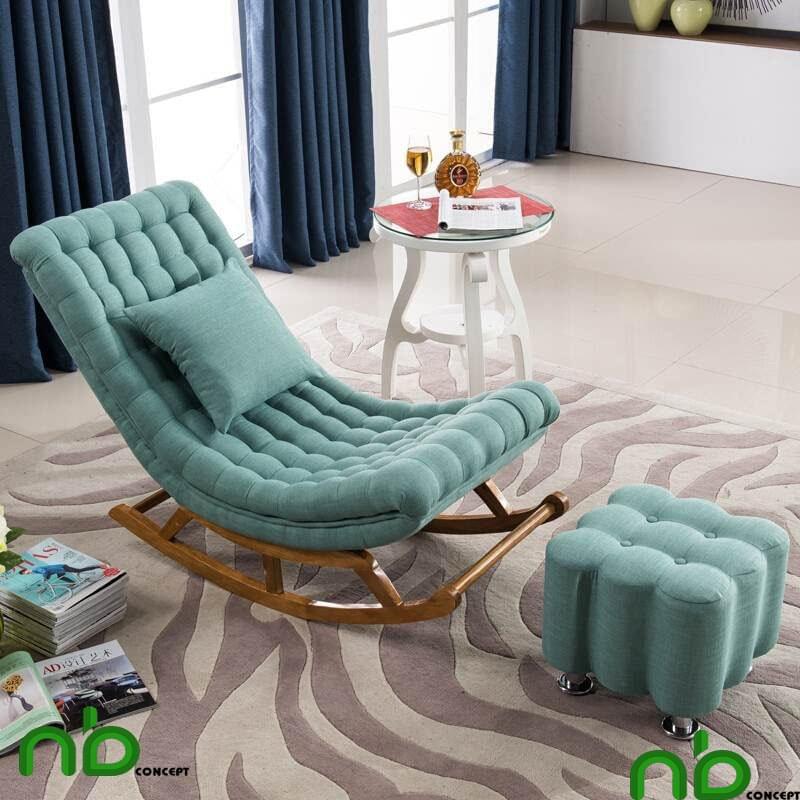 Ghế đọc sách sofa bập bênh có độ bền cao và vô cùng thoải mái