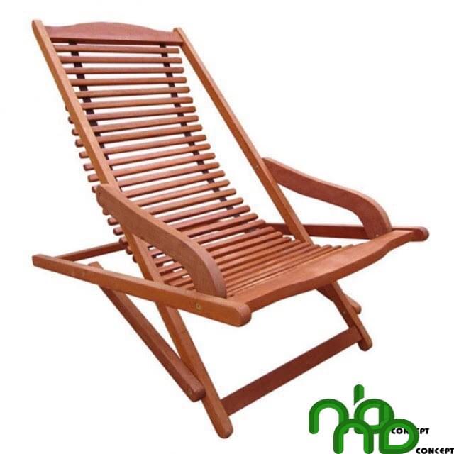 Ghế xếp gỗ đọc sách có thiết kế đơn giản nhưng rất chắc chắn