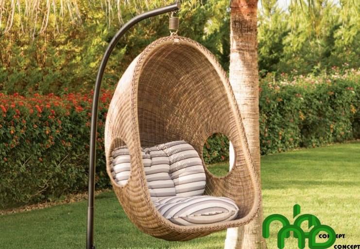 Ghế xích đu mang lại cho bạn những phút giây thư giãn tuyệt vời