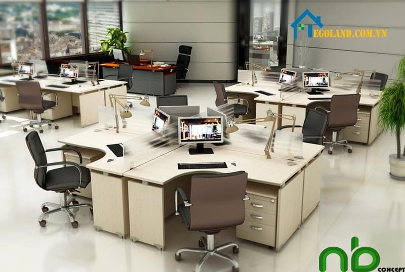 Khi dùng bàn làm việc chữ L người dùng nên chọn theo nhu cầu sử dụng của bản thân