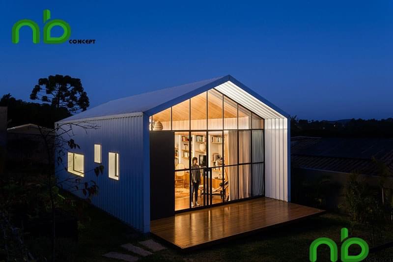 Nhà tiền chế ra đời đem đến tính ứng dụng cao và tiết kiệm thời gian xây dựng