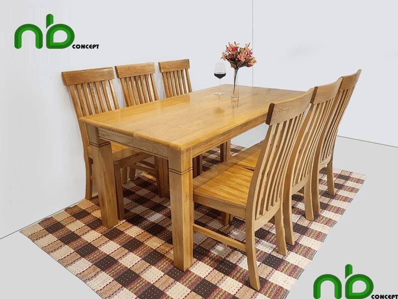 25+ bộ bàn ăn 6 ghế đẹp - bền - giá rẻ