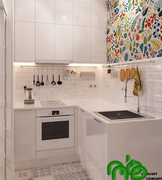 Bếp thông minh với không gian phòng bếp nhỏ tiết kiệm diện tích