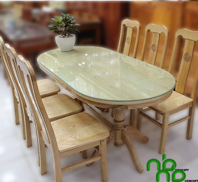 Mẫu bàn ăn đa dạng kích thước