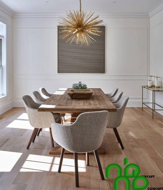 Bộ bàn ghế hiện đại phong cách mới