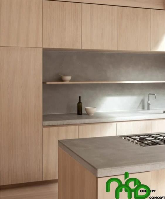Mẫu bếp thông minh sang trọng dễ sử dụng