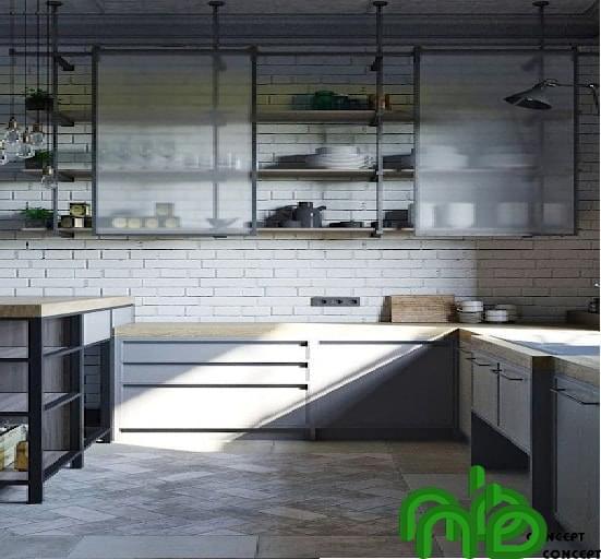 Mẫu thiết kế tủ bếp thông minh