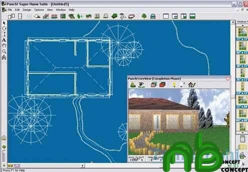 Phần mềm thiết kế nội thất Home Design 3D