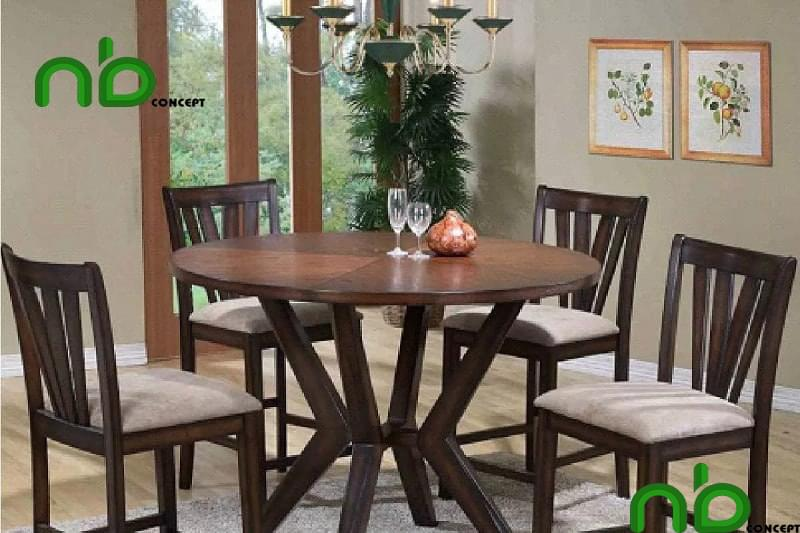 Mẫu bộ bàn ghế tròn đẹp 4