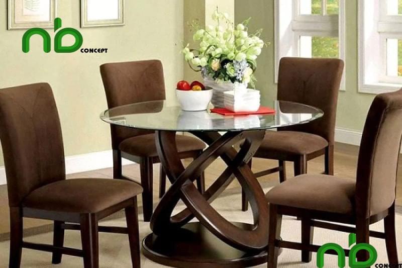 Mẫu bộ bàn ghế tròn đẹp 6
