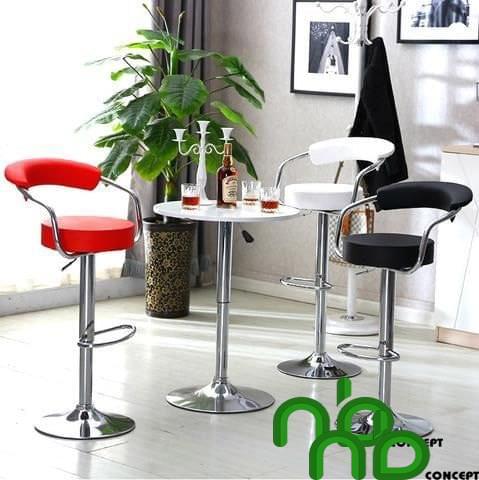 Mẫu bộ bàn ghế tròn đẹp phong cách thời thượng nhỏ gọn