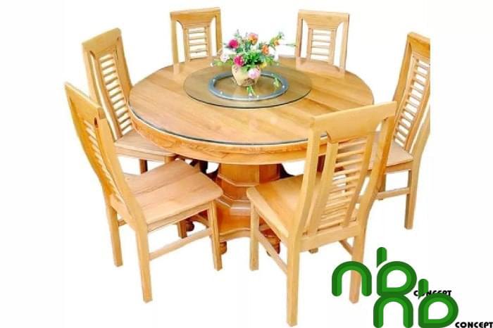 Mẫu bộ bàn ghế tròn đẹp 8