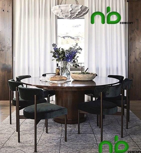 Mẫu bộ bàn ghế tròn đẹp