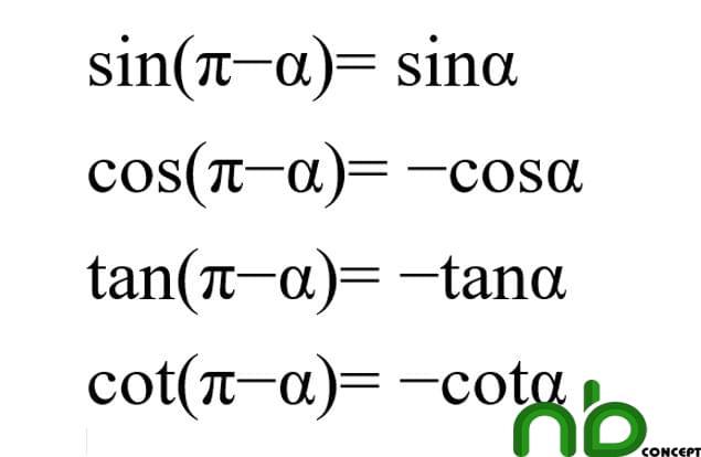 Tuyển tập công thức lượng giác dễ hiểu nhất 2