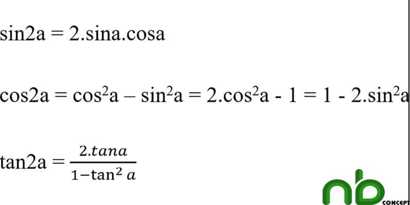 Tuyển tập công thức lượng giác dễ hiểu nhất 8