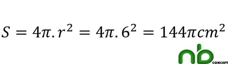 Công thức tính diện tích hình cầu, diện tích mặt cầu chính xác 5
